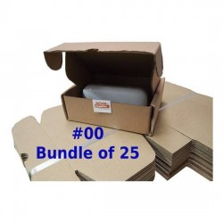 Postal Box Size 00 (XXXS) - 25pcs per bundle