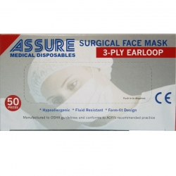 Surgical Face Mask with Ear-Loop
