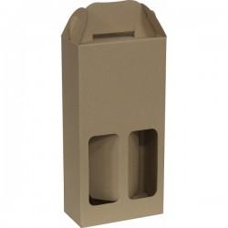 KRAFT WINE BOX #GH-02 (10PCS/ BUNDLE) *Pre-Order; No Exchange/ Return*