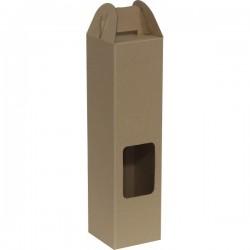 KRAFT WINE BOX #GH-03 (10PCS/ BUNDLE) *Pre-Order; No Exchange/ Return*