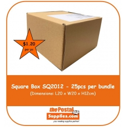 Wholesale Postal Box Size SQ2012 [SQUARE]