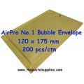 Airpro Bubble Envelope No.1 (200 per box)