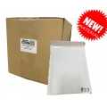 S5 Size White Kraft Bubble Mailer (Wholesale) - 200PCS
