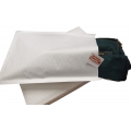 Kraft White Bubble Mailer #1 (C5) 100/bx *Arriving in Feb*