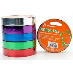 Rainbow Tape 18mm x 8yard (min. 5 rolls)