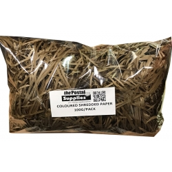 Mocha Shredded Paper (100G)