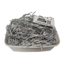 Metallic Silver Shredded Paper Fillers (100G)