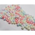 Pastel Round Cushioning Fillers Foam for Small Gift Box