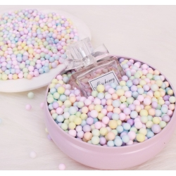 Pastel Round Cushioning Fillers Foam for Gift Box