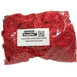 Red Shredded Paper Fillers (100G)