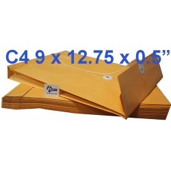 Goldkraft Expandable Envelope EXC4 9x12.75x0.5 (Pack of 10)