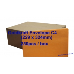 Goldkraft Envelope C4 9 x 12-3/4 (Box)