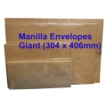 Manilla Envelope No.1216M Giant 12X16 (Box)