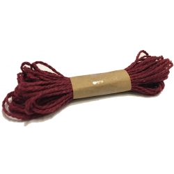 BAKER'S TWINE (DARK RED)