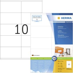 Herma 4425 Superprint 105X57 (1000s) Wht