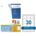 Herma 4456 Superprint 70X29.7mm (3000s) White