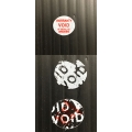 Tamper-Evident Void Security Round Stickers Dia.12mm