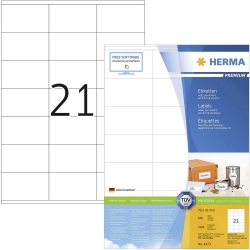 Herma 4473 Superprint 70.0X41.0 (2100s) Wht