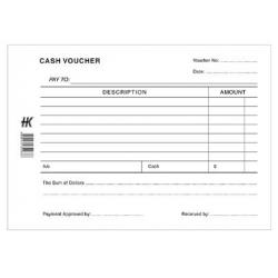 Cash Voucher Pad