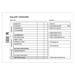 Salary Voucher Pad
