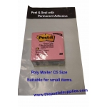 Black Poly Mailer #S1 16x22cm (Wholesale)