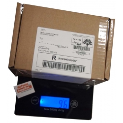 Jet Black Digital Weighing Scale (up to 5kg)