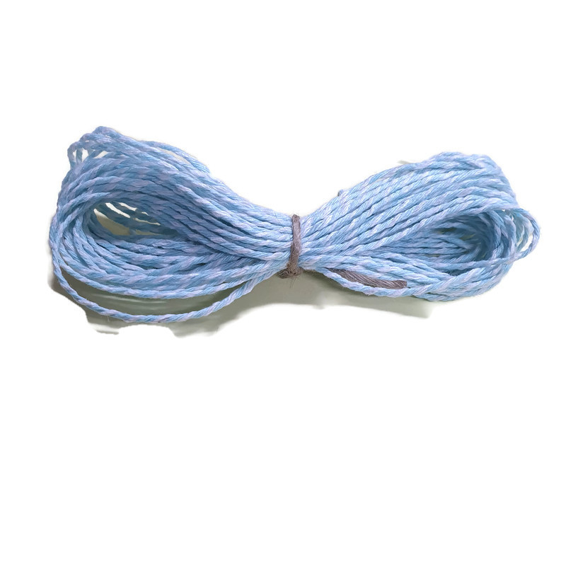 Baker's Twine cotton string Light Blue/White
