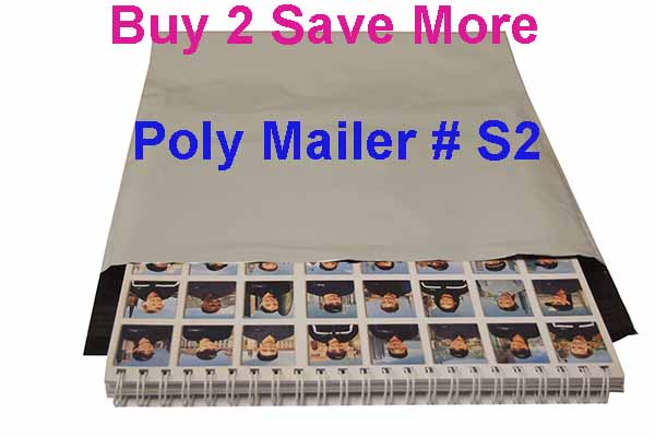polymailers for calendars