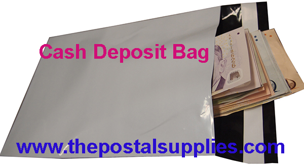Tamper free Cash Deposit Security Bag